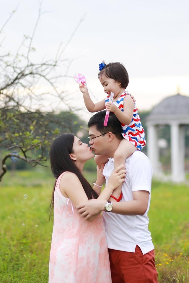 Chụp ảnh gia đình dã ngoại