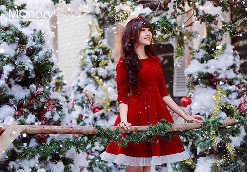 Chụp ảnh Noel đẹp