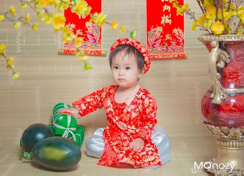 Chụp ảnh tết cho bé ở đâu đẹp, rẻ mà chất?
