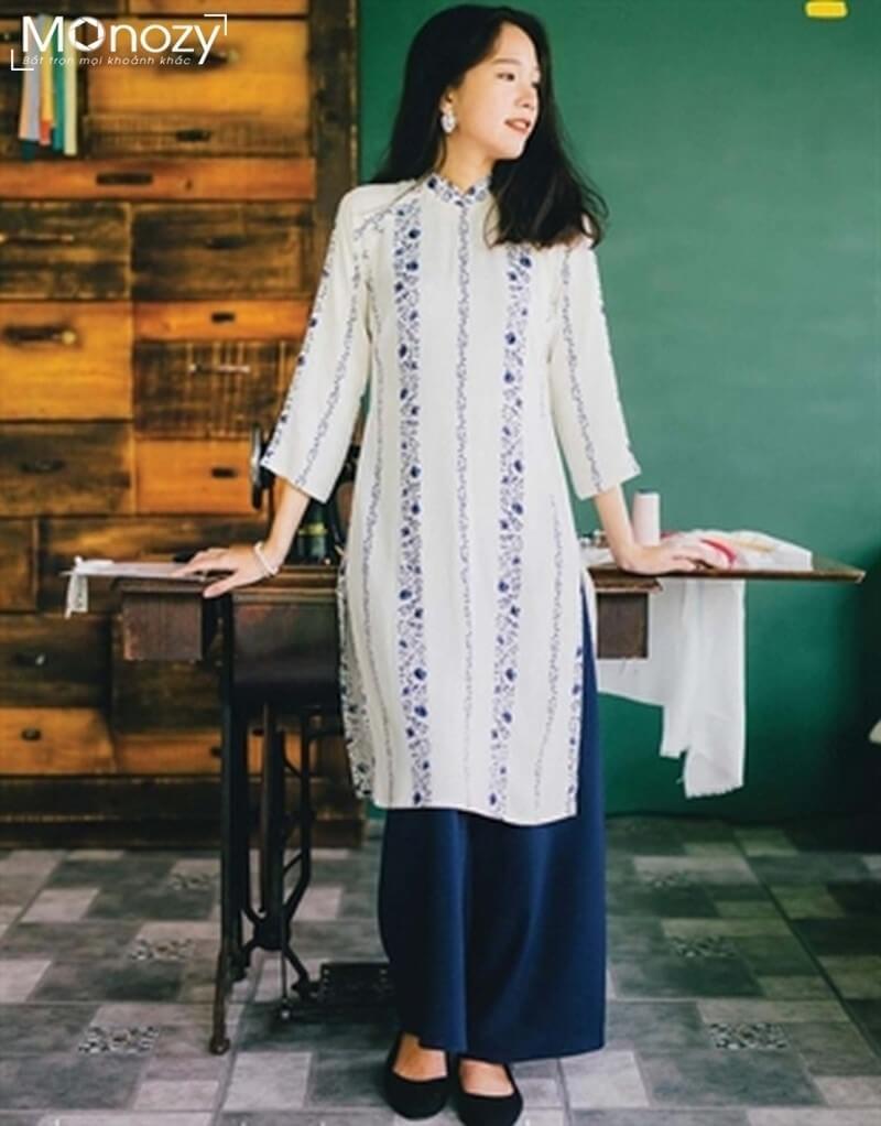 5 xu hướng áo dài chụp hình tết đẹp nhất năm 2019