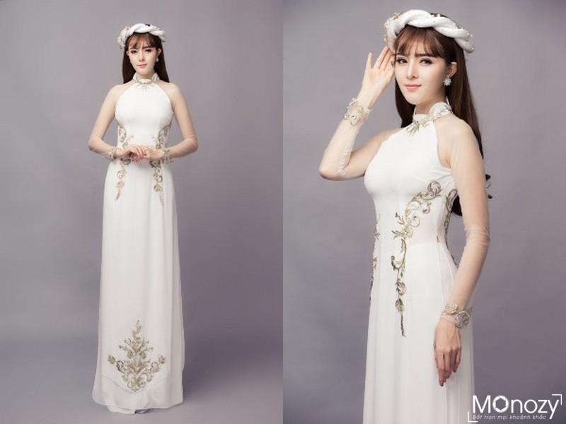 Cô dâu xinh xắn trong shoot chụp ảnh áo dài ăn hỏiCô dâu xinh xắn trong shoot chụp ảnh áo dài ăn hỏi