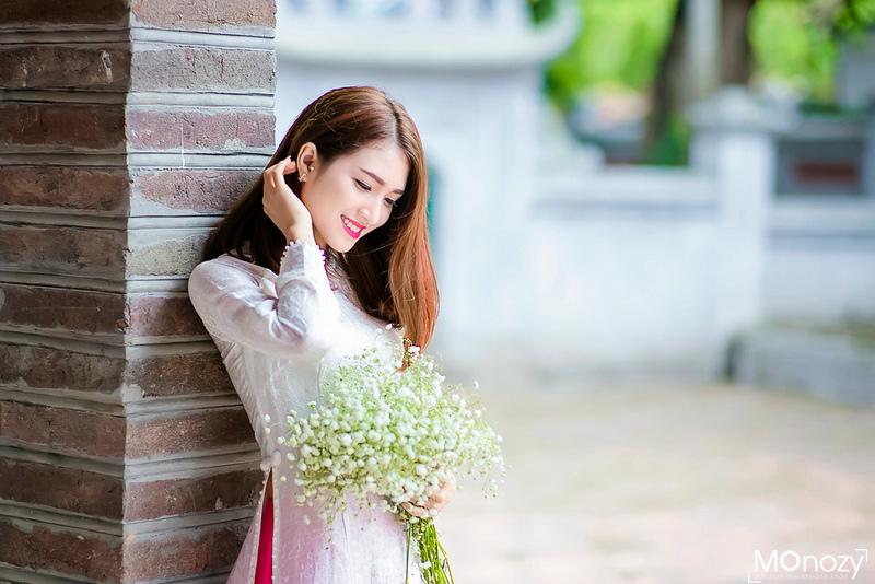 Kinh nghiệm chụp ảnh áo dài ở Hoàng Thành Thăng Long đẹp