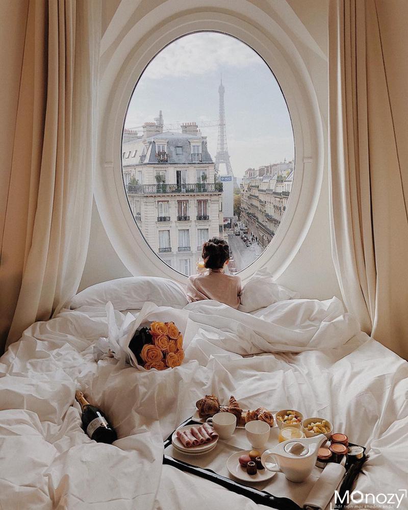 Bắt trend chụp ảnh trong khách sạn của giới trẻ