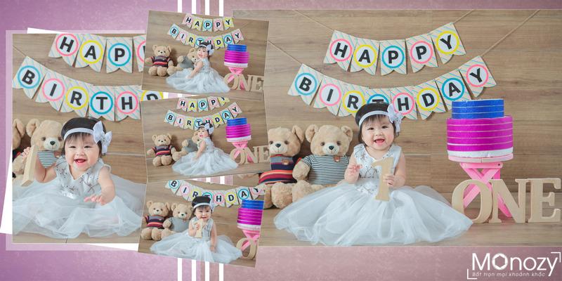 Lên ý tưởng chụp ảnh sinh nhật cho bé đẹp mê ly