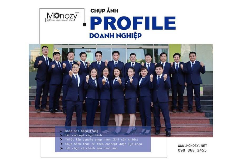 Chụp ảnh giới thiệu công ty