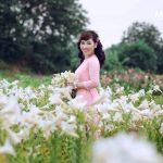 Chụp ảnh hoa loa kèn